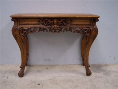 Delightful HR2   French Ornate Louis Side Table